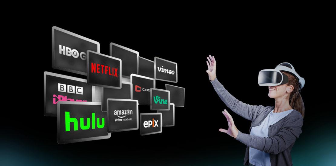 AR VR Technology in OTT streaming Platforms